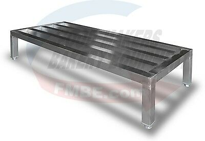 """Stainless Dunnage Rack 24"""" x 60"""""""