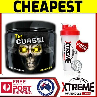 COBRALABS THE CURSE 250g LEMON// COBRA LABS PURE ENERGY MENTAL FOCUS PRE WORKOUT