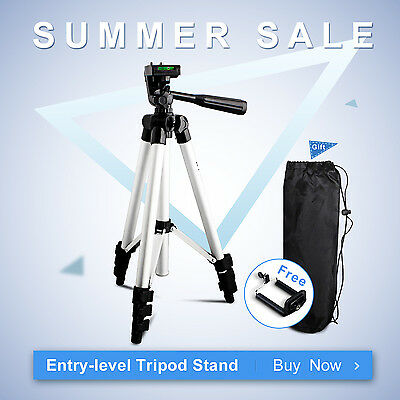 Travel Professional Lightweight Tripod Stand For Nikon Canon Camera Mobilephone