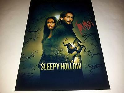 """Sleepy Hollow Pp Signed 12""""x8"""" Poster Tom Mison Tv New"""
