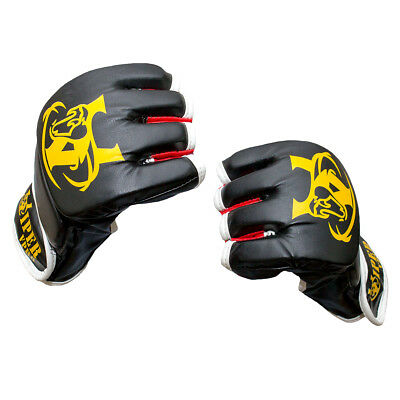 MMA Ufc Grappling Gloves Fight Boxing Punch Bag Kick Training Fitness