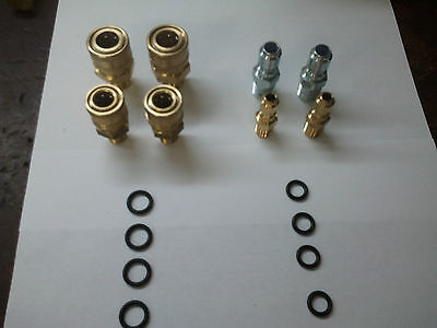 Pressure Washer Hose And Wand Repair Kit - Female And Male Quick Connects