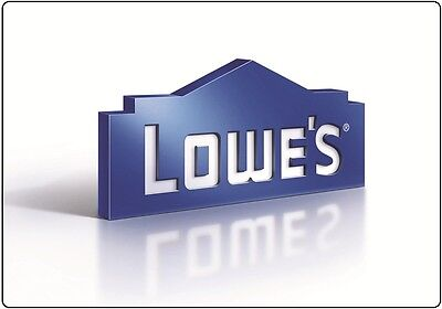 Lowe's Gift Card $25/ $50/ $100 - Mail delivery