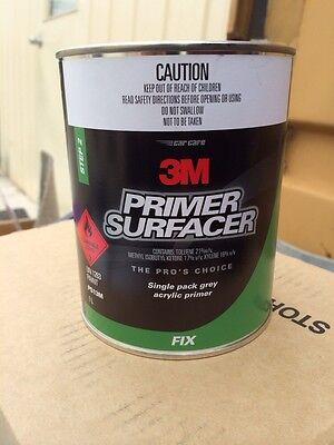 3M Auto Acrylic Primer Surfacer 1Lt Grey