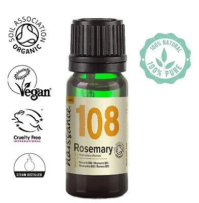 Naissance Rosemary Certified Organic Essential Oil Aromatherapy 10ml - 50ml