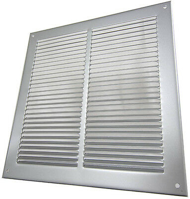 Ventilation Grills - Pressed Steel Louvres - White