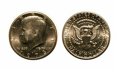 1973-D Kennedy Half Dollar Near Gem BU   #K112