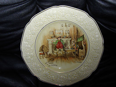 Crown Ducal Florentine China Plate Made In England Sam Weller