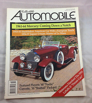 Packard 734 Speedster Runabout  30 Feb 2000 Collectible Automobile Magazine