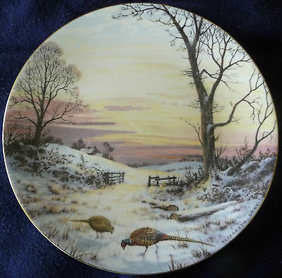 Elizabeth Gray Peace with Nature Series Evening Glow Limited Edition Plate