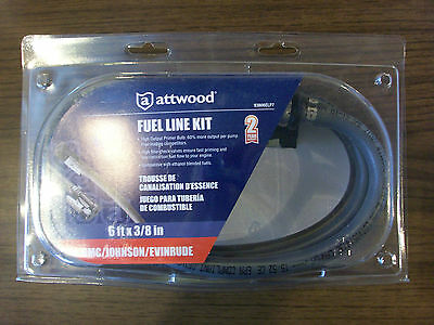 Attwood Fuel Line Assembly Epa OMC Evinrude//Johnson  93806EUSD7 Brand New