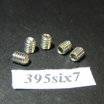 16 PCS Hex Socket Grub Stainless Screw - M4 x 5mm