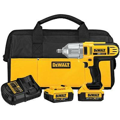 DEWALT DCF889HM2 20V MAX Li-Ion 1/2in Cordless Impact Wrench Kit