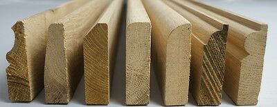 Solid Wood / Oak Skirting Board / Architrave Boards / Various Profiles & Heights