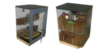 Prestige Import Group THE Franklin Acrylic Cigar Humidor Counter Top Display