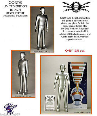 GORT The Day The Earth Stood Still resin statue 41cm Rocket USA