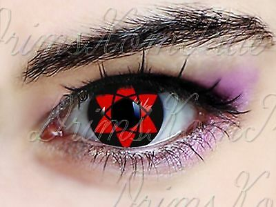 Lentille de Couleur Sharingan Amaterasu / Crazy,Sasuke,Naruto,Cosplay,Halloween