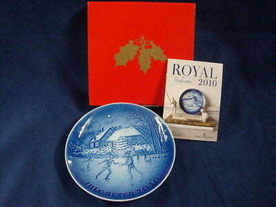 2010 B&g Bing & Grondahl Christmas Plate / Great Anniversary Or Birthday Present