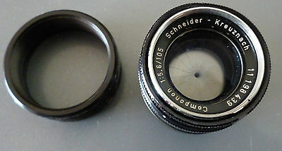 Schneider Kreuznach Componon 105mm f5.6 6-elements 4-groups Enlarger Lens+ Ring