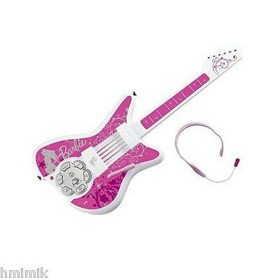 """Brand New Rare Barbie """"jam With Me"""" Electronic Rock Star Guitar Collectible Toy"""