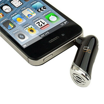 Bluetooth Audio Transmitter Handsfree 3.5mm AUX-In Car Kit For iPhone 5 4S iPad