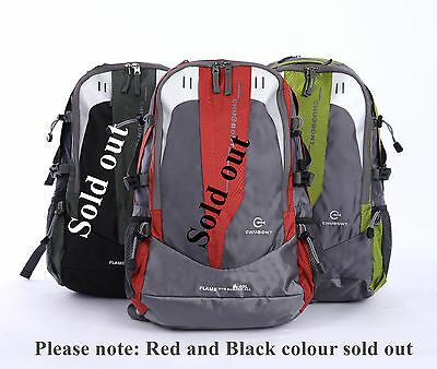 40L backpack camping hiking mountain travel rucksack outdoor daypack
