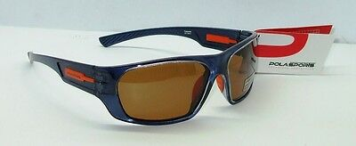 Polasports Drifter Metallic Blue Polarized Sunglasses BRAND NEW