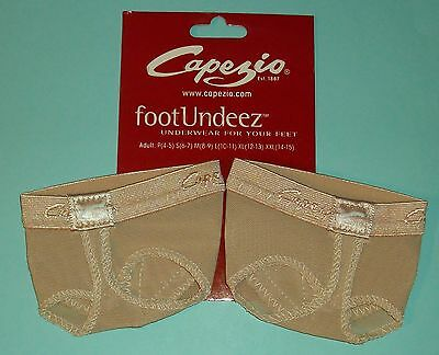 Capezio -  FootUndeez-Foot Thong - H07- Nude- All Sizes