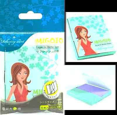 Migoto Facial Oil Blotting Papers - Relaxing Scent