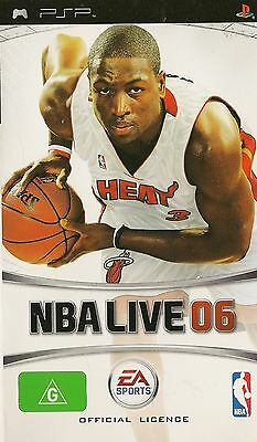 Playstation Portable NBA Live 06 PSP Game Complete Basketball