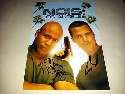 "Ncis Los Angeles Pp Signed 12"" X 8"" Inch Poster Chris O' Donnell Ll Cool J"
