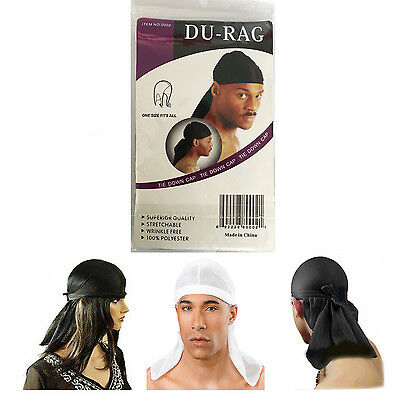 Boy's Breathable Durag Bandanna Sports Du-Rag Scarf Head Band Wrap Tie Biker Cap