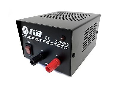 Nippon 3-5 Amp Surge DC Regulated Power Supply Converter 117 AC to 13.8V DC