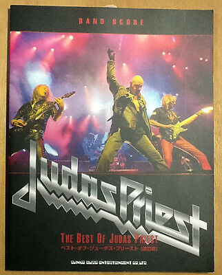 The Best Of Judas Priest Japan Band Score Guitar Tab