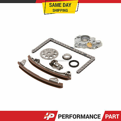 TIMING CHAIN KIT Water Oil Pump for 00-06 Toyota Corolla
