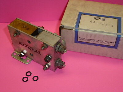 NEW! BINKS Model 41-923 AUTO-CYCLE AIR VALVE for AIR OPERATED PUMPS