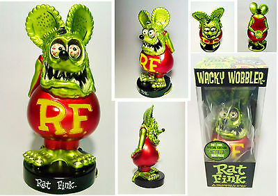 RaT FinK,LimiteD Ed 1960s VintagE ModeL, RarE,Wacky W,GenuinE,MonsteR,LawN GreeN
