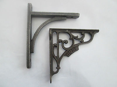 Cast Iron old English vintage Shelf Support Book Sink Toilet Cistern Bracket