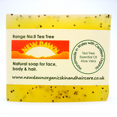 ACNE, SPOTS, BLACKHEADS, WHITEHEAD, BOILS remover - Organic Soap for Face & Body