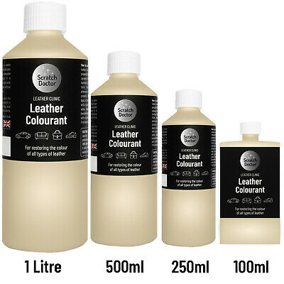 BEIGE Leather Colourant for repairs & restorations. / Pigment Stain Dye