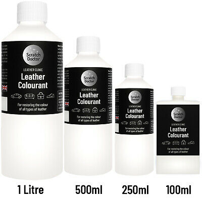 WHITE Leather Colourant for repairs & restorations. / Pigment Stain Dye