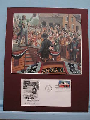 DeWitt Clinton & the Opening of the Erie Canal & First day Cover