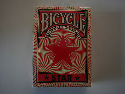 Red Star Bicycle Limited Ed. Deck Of Playing Cards Uspcc Poker Magic Card Tricks