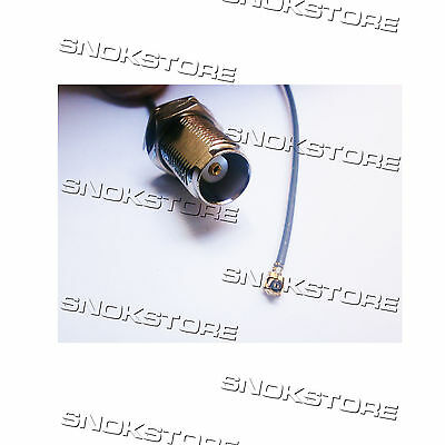 CAVO CABLE IPX ipex to TNC FEMALE RF COAXIAL CABLE 1.13 connector adpter PIGTAIL
