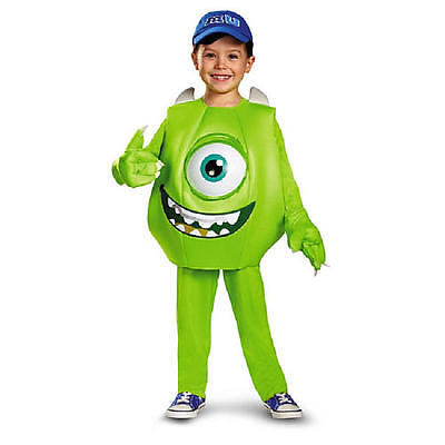 MIKE MONSTERS UNIVERSITY DELUXE COSTUME 2T Todder Toys R Us Boys Inc Child NEW