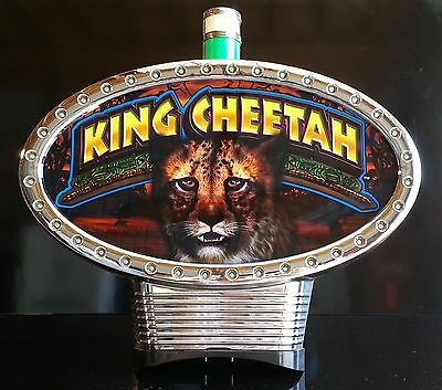 IGT Slot Machine Topper KING CHEETAH