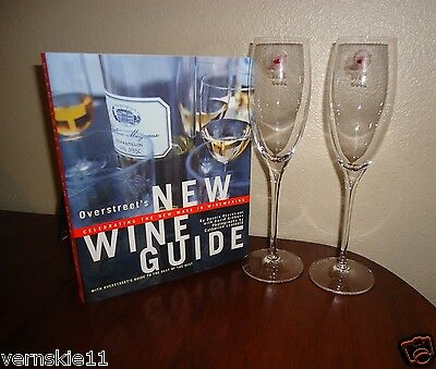 Cristal d'Arques 2 Champagne/Wine Glasses 24% Full Lead Crystal TVN 2000