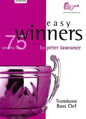 Easy Winners for Trombone (Bass Clef) Part & CD, Lawrance BW0125BCD