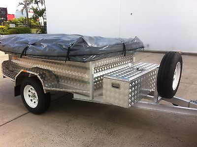 New Aluminum Off Road 4X4 Camper Trailer Plus All Extras Ready To Go Camping!