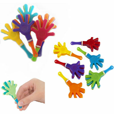 Hands Clapper Kids Clapping Play Fun Sound Maker Mini Toy Party Loot Bag Filler